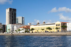River side of Recife Royalty Free Stock Image