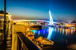 River side in Taipei Tamsui Royalty Free Stock Photography