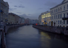 River Sink, Nevsky Prospect, St. Petersburg, Russi Royalty Free Stock Image