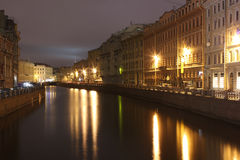 River Sink, Nevsky Prospect, St. Petersburg, Russi Stock Photos