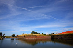 River and sky Stock Photography