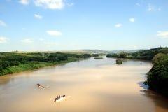 River & sky Stock Image