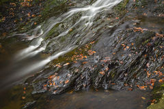 River And Slate, Ardennes, Belgium Stock Image
