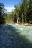 River in Slovenia Royalty Free Stock Photo