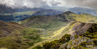 River from snowdon Royalty Free Stock Photography