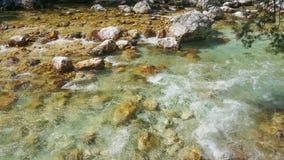 River Soca in Slovenia Royalty Free Stock Photo