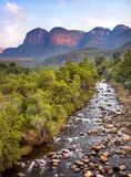 River in South Africa. The Blyde River. stock photo