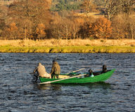 River Spey, opening day of fishing season 2014. Stock Photography