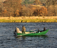Free River Spey, Opening Day Of Fishing Season 2014. Stock Images - 37758584