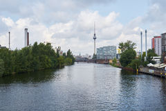 River Spree in Berlin Royalty Free Stock Images