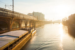 River Spree, Berlin Stock Photos