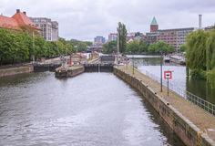 River Spree Berlin Royalty Free Stock Photo