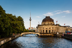 River Spree and Museum Island, Berlin. Germany stock photography