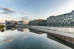 River Spree and office building of the German Parliament in Berl Stock Images