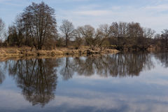 River in Spring Royalty Free Stock Photos