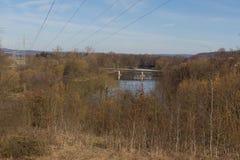 River in Spring Stock Image