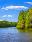 River in Spring Royalty Free Stock Photography