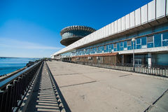 River Station of Volgograd, Russia Stock Image