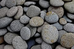 River Stone. S for the wall material or home material Royalty Free Stock Photo