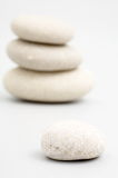 River stones as background. River stones as abstract background Stock Photos