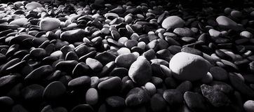 River stones background Royalty Free Stock Images