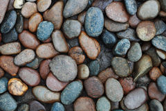 river stones background Stock Photography