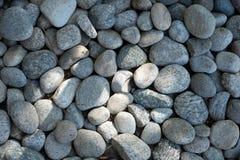 River Stones Background Stock Image