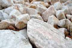 Marble stones  Royalty Free Stock Image
