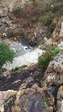 River. A river after a storm flowing down the mountain Stock Image
