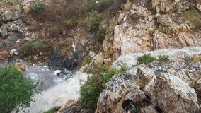 River. A river after a storm flowing down the mountain Royalty Free Stock Photo