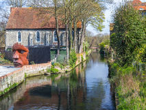 River Stour at Canterbury Royalty Free Stock Images