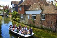River Stour in Canterbury, UK Stock Image