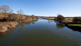 River Stour, Dorset,UK Royalty Free Stock Photography