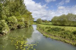 River Stour, Warwickshire Stock Photography
