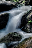 River stream flowing over rocks Stock Photos