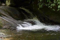 River. Stream that flows into the waterfall of God in Boulder, Rio de Janeiro Stock Photos