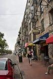 River Street Shops in Savannah. GA stock photo