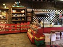River Street Sweets Candy Store, Savannah, GA. The River Street Sweets Candy Store located on River Street in Savannah, GA stock images