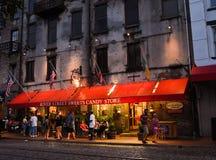 River Street Sweets, Savannah, GA. royalty free stock image