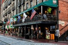 River Street Sweets, Savannah, GA. royalty free stock images