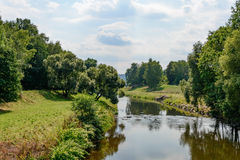 River in summer Royalty Free Stock Image