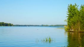 River in Sunny day. Scenic view royalty free stock image