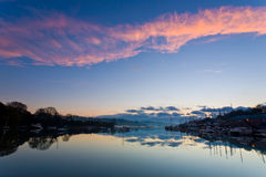 River Sunrise Royalty Free Stock Images