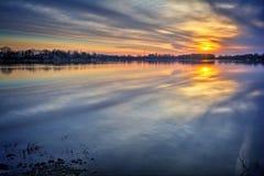 River Sunrise Stock Photos