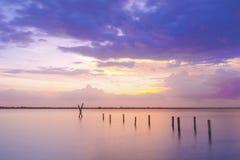River sunset Stock Photos