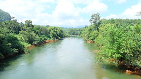 River Surat Thani Royalty Free Stock Photography