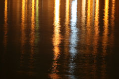 River Surface 2. Shot of Danube river with blinking surface in different color Royalty Free Stock Image