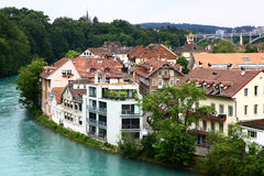 River surround Bern Royalty Free Stock Image