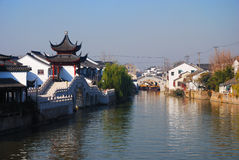 River. A river in Suzhou, China Stock Photography