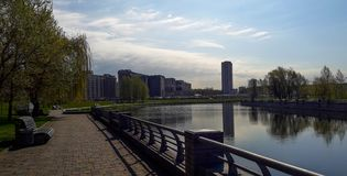 River `Svisloch` stock photography